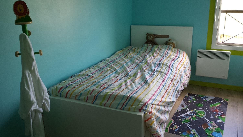 Lit enfant gigogne bow blanc 90x200 cm ma chambre d 39 enfant for Machambre d enfant com