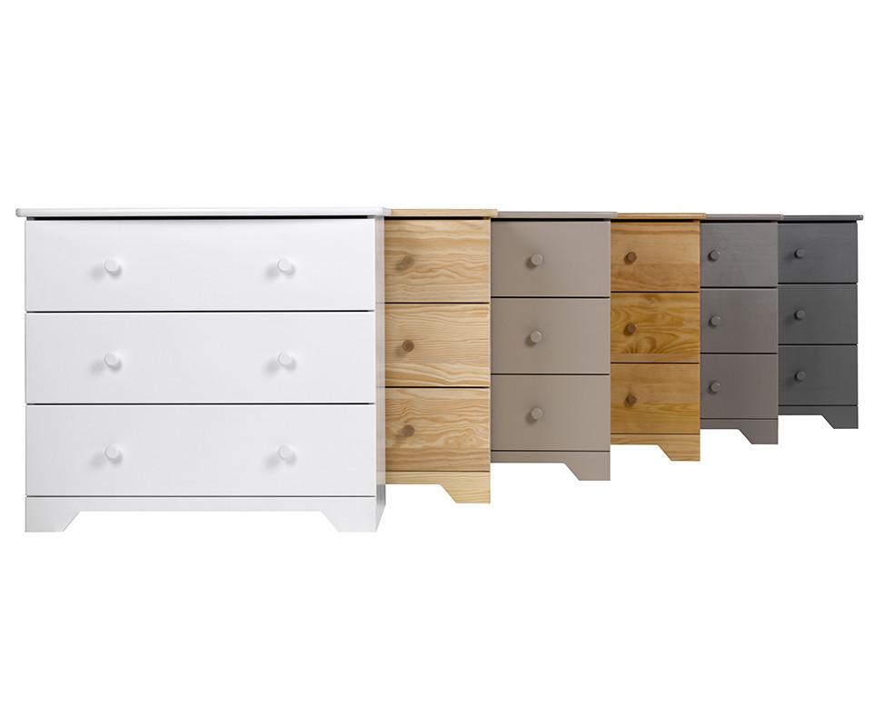 commode enfant nature grise mobilier de fabrication fran aise. Black Bedroom Furniture Sets. Home Design Ideas