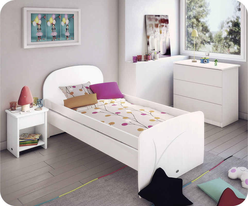 Chambre enfant luen blanche achat vente chambre enfant for Petite chambre enfant