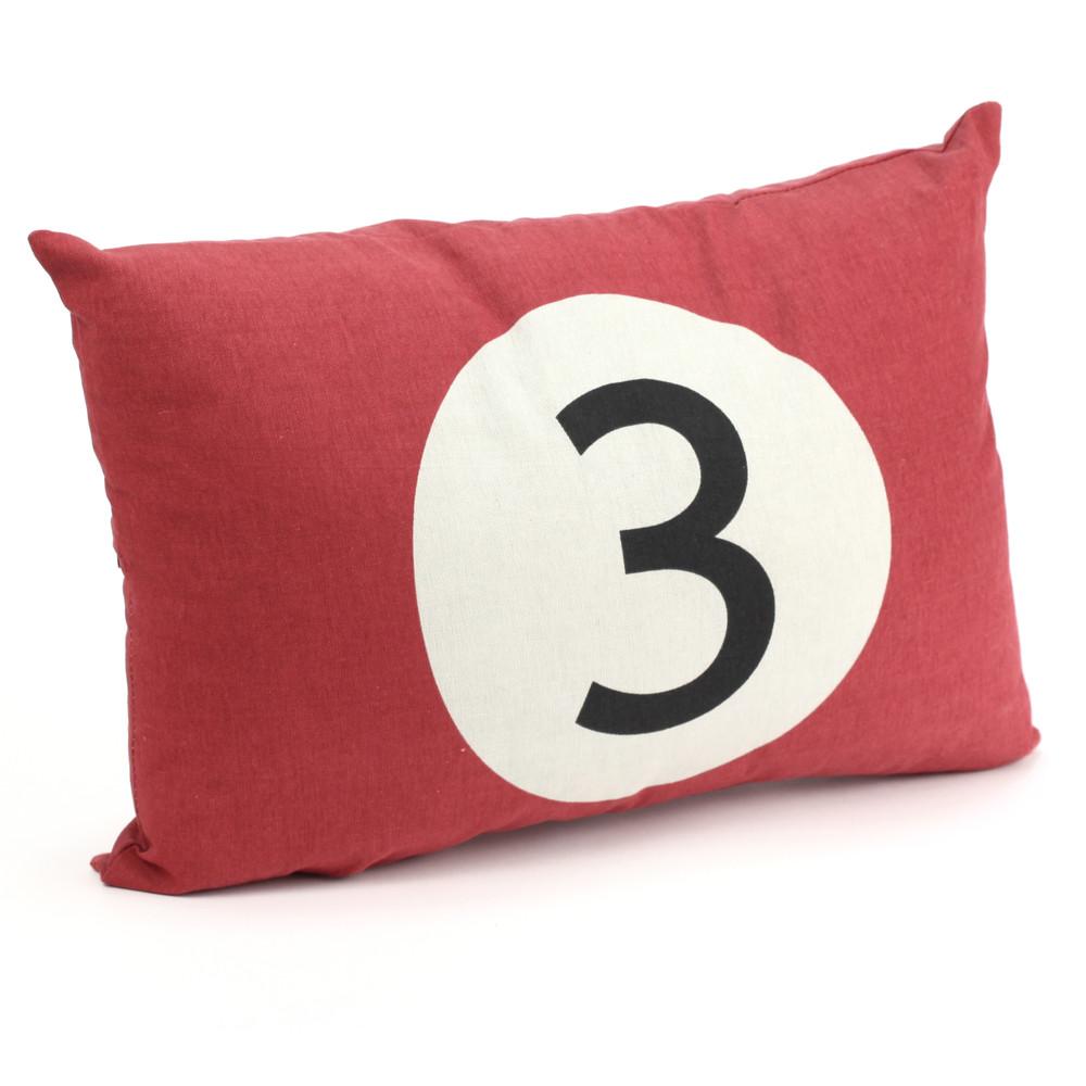 coussin billard rouge 30 45 achat vente coussin enfant. Black Bedroom Furniture Sets. Home Design Ideas