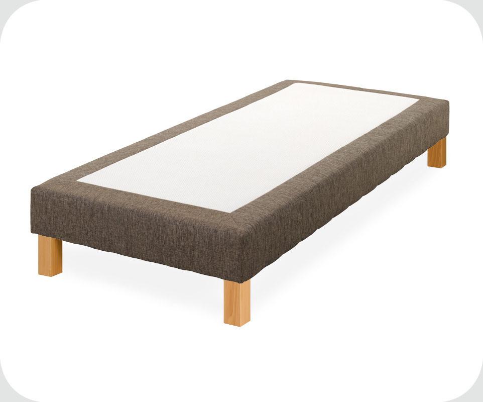 sommier sur pieds sailor 80x200 cm coloris chocolat ma chambre d 39 enfant com. Black Bedroom Furniture Sets. Home Design Ideas