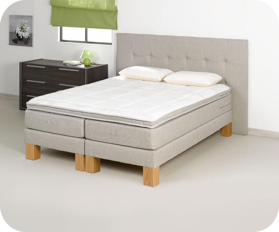 sur matelas sailor 180x200 cm coloris lin ma chambre d. Black Bedroom Furniture Sets. Home Design Ideas