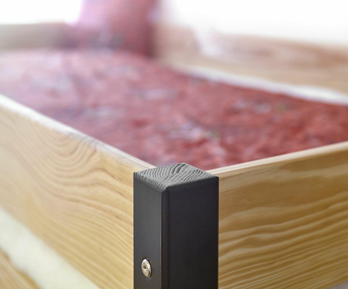 Lit mezzanine enfant clay blanc achat vente lit mezzanine bois massif - Dimension lit mezzanine 2 places ...