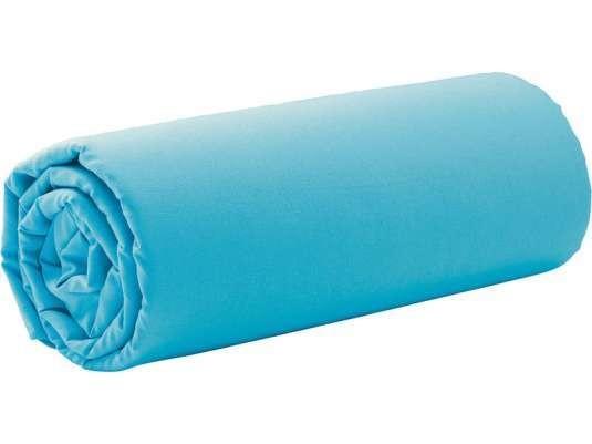 drap housse enfant bleu craibes 90x200 cm. Black Bedroom Furniture Sets. Home Design Ideas