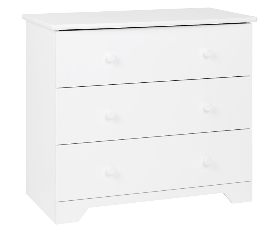 Commode enfant nature blanche mobilier fabrication fran aise - Commode blanche enfant ...