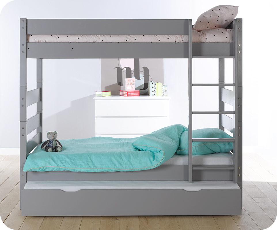 lits superposes 90x190 maison design. Black Bedroom Furniture Sets. Home Design Ideas