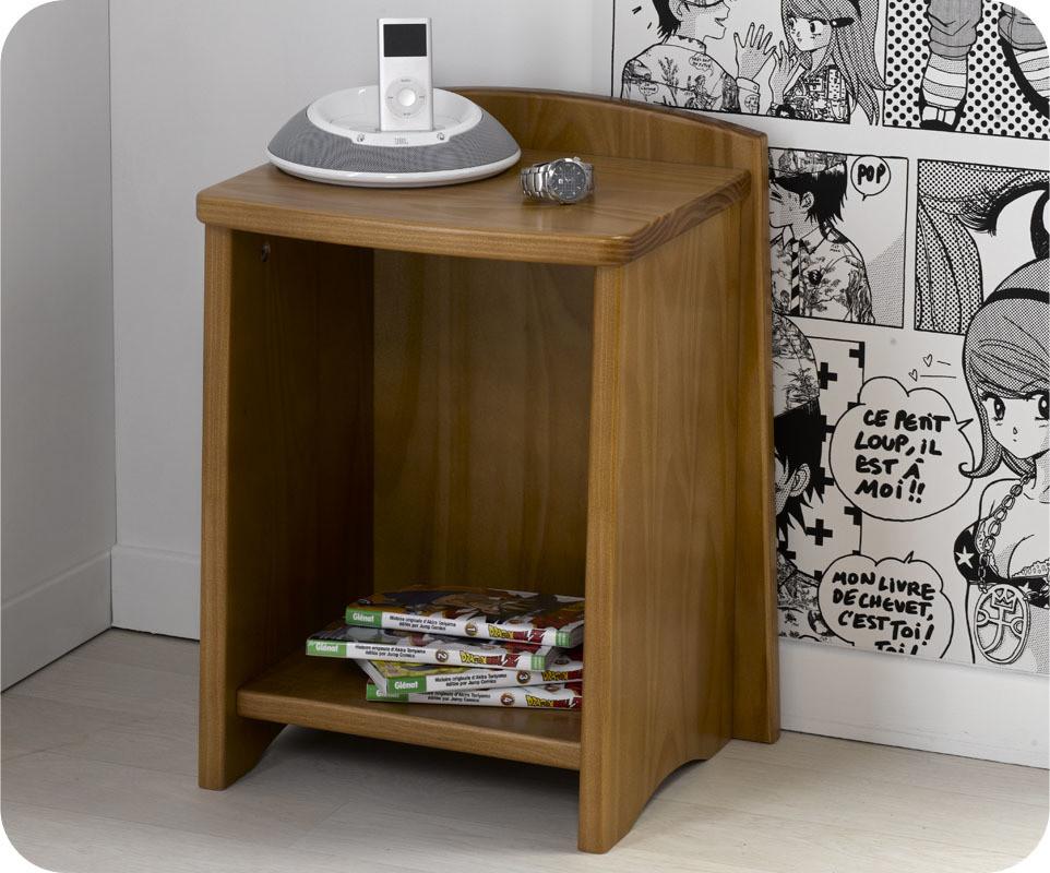 chevet enfant nature ton anglais en bois massif ma. Black Bedroom Furniture Sets. Home Design Ideas